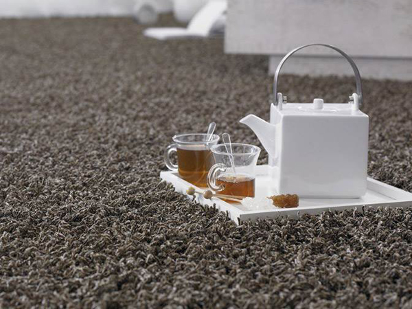 Tea on the carpet
