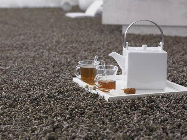 Tea on the carpet
